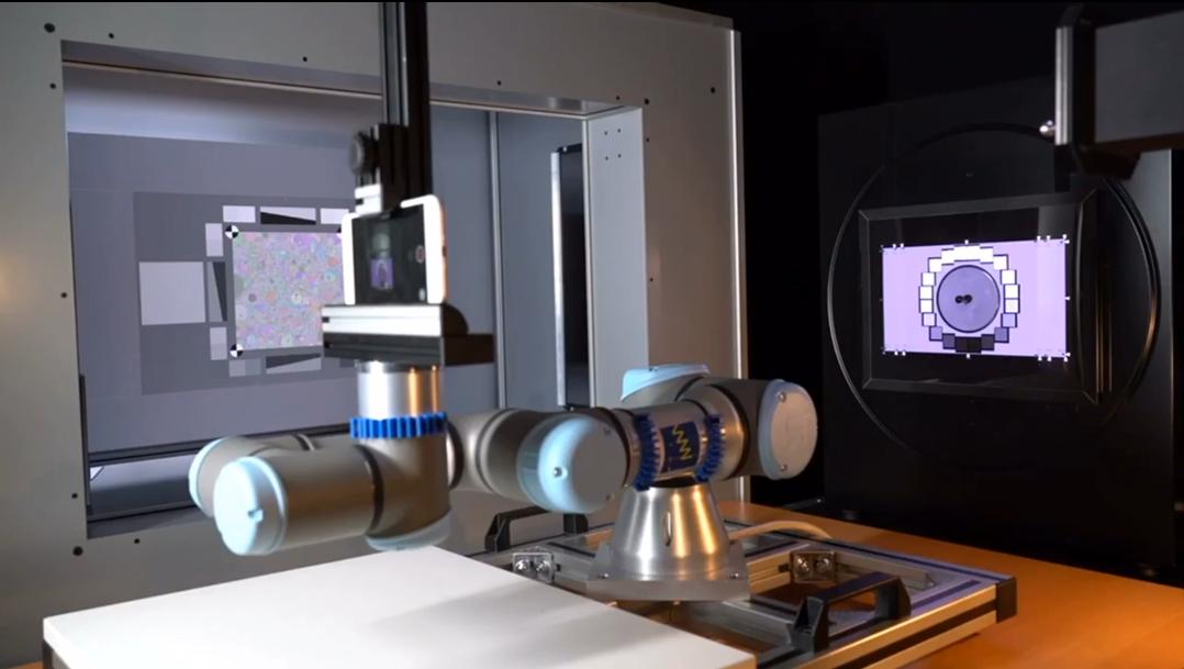透射灯箱组合自动化测量环境配置