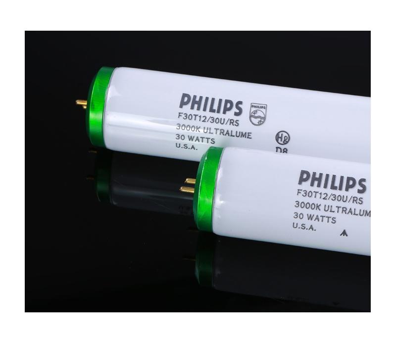 PHILIPS灯管U30对色光源F30T12 3000K 90CM